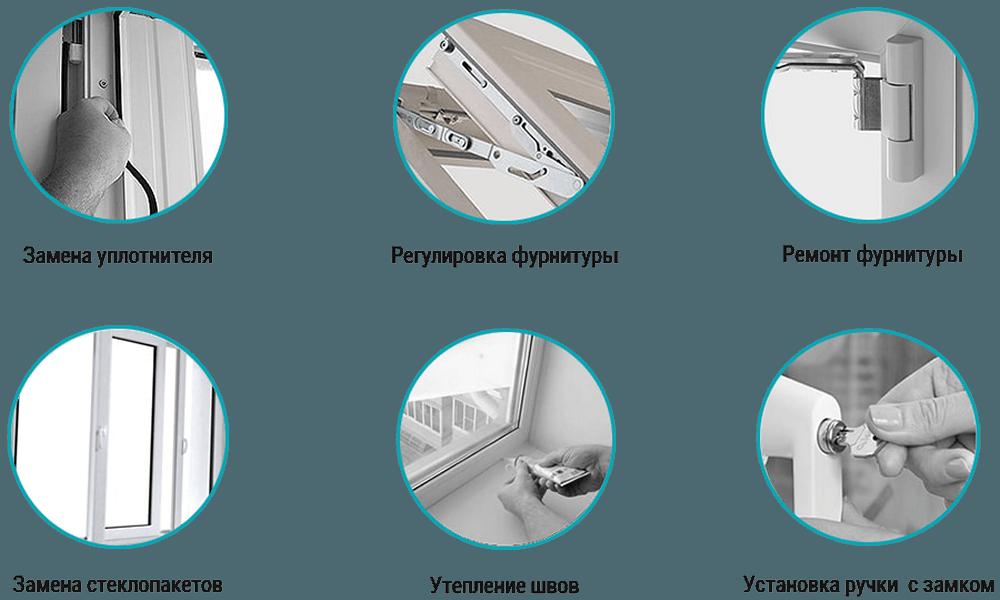 Пластиковые окна: типичные неисправности и их устранение
