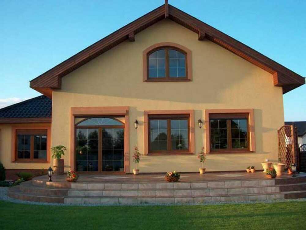 купить окна Рехау для загородного дома, коттеджа в Днепре