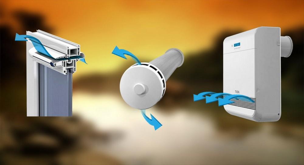 Пластиковые окна — клапаны для вентиляции это ваше здоровье