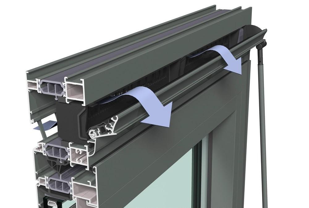 Приточные вентиляционные клапаны для пластиковых окон Рехау в Днепре