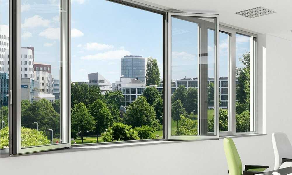Остекление балконов и лоджий алюминиевым профилем в Днепре
